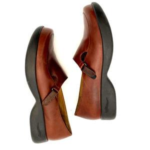 DANSKO Darcy Brown Leather Loafers Nursing Shoes